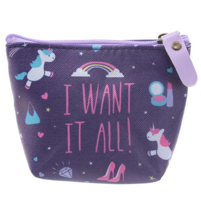 I want it all! Unikornis neszeszer