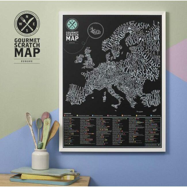 Ínyenc kaparós térkép