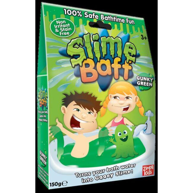 Slime Baff nyúlós fürdőzselé Zöld
