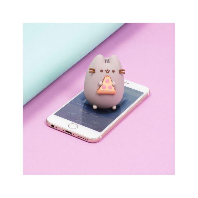 Pusheen cica - pizza majszoló mini Bluetooth hangszóró