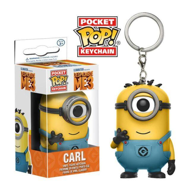 Despicable Me 3 - Gru 3 Carl Minion POP! kulcstartó