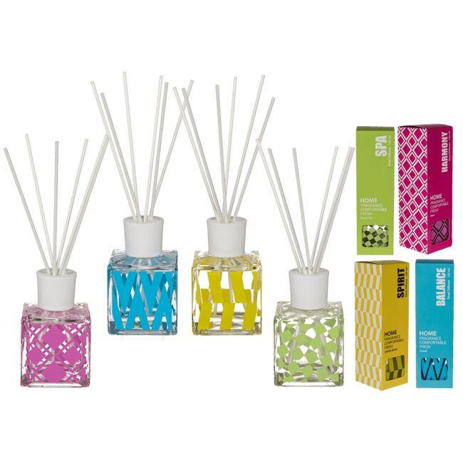 Szoba illatosító illóolaj pálcákkal - Nyári illatok (120 ml) SPIRIT