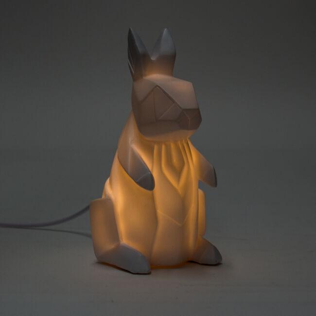Origami nyúl hangulatvilágítás