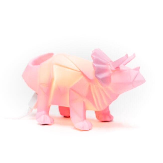 Origami Triceratops dinó hangulatvilágítás - 2 méretben Kicsi