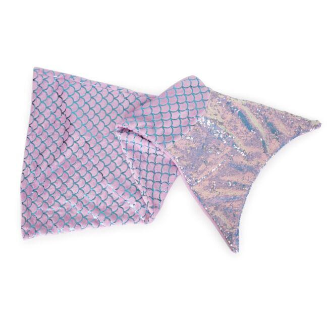 Flitteres sellő takaró