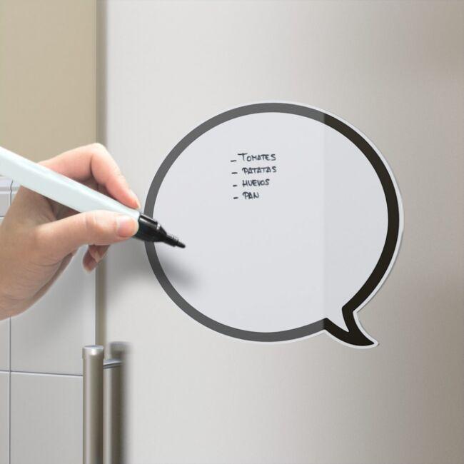 Szövegbuborék mágneses üzenő