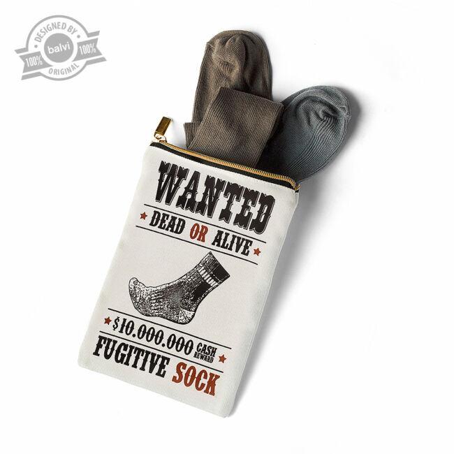 Wanted! Elveszett zokni pár tároló