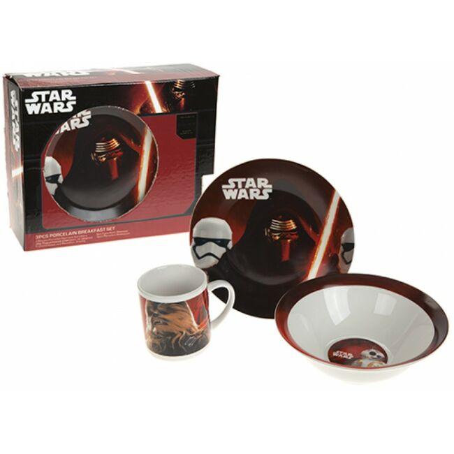 Star Wars 3 DB-os reggeliző szett