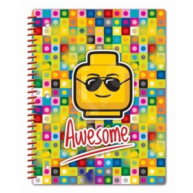 Lego spirál jegyzetfüzet