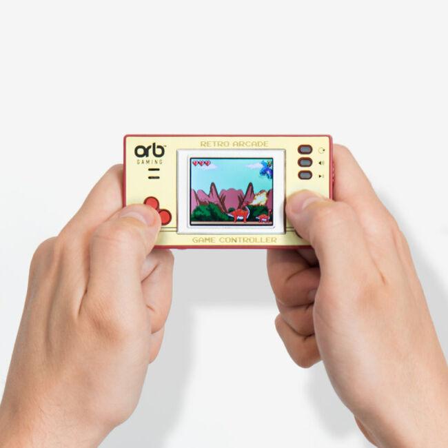 Mini retro játék konzol