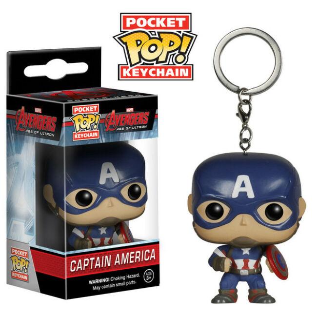 Amerika Kapitány POP! kulcstartó