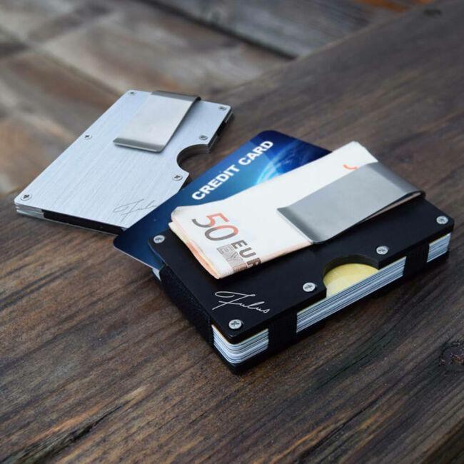 Fulus RFID bankkártyatartó - bankkártya adat védelemmel Ezüst