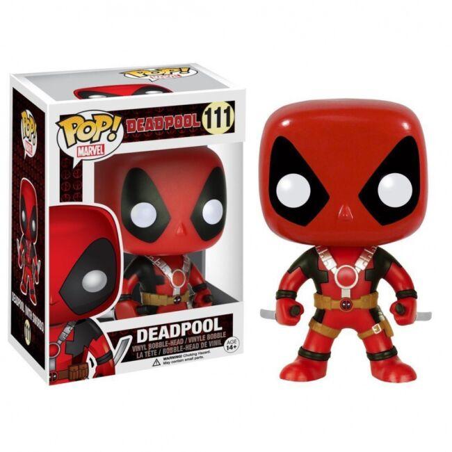 Deadpool POP! figura két karddal