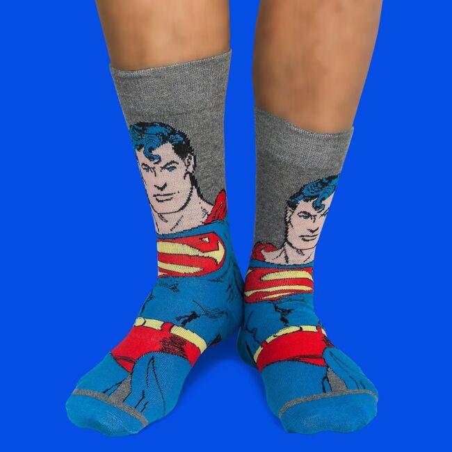 Superman zokni szett - 2 pár