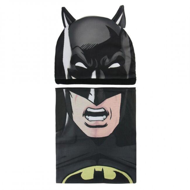 Batman sapka és sál szett
