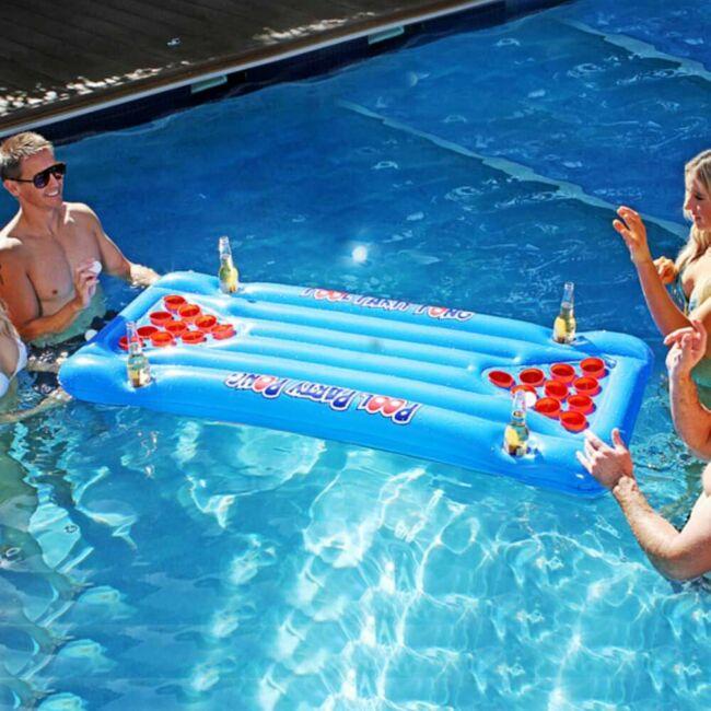 Beer pong - Sör pong felfújható matrac