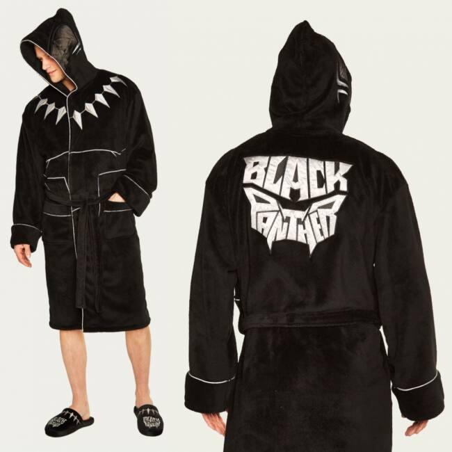 Fekete Párduc férfi köntös