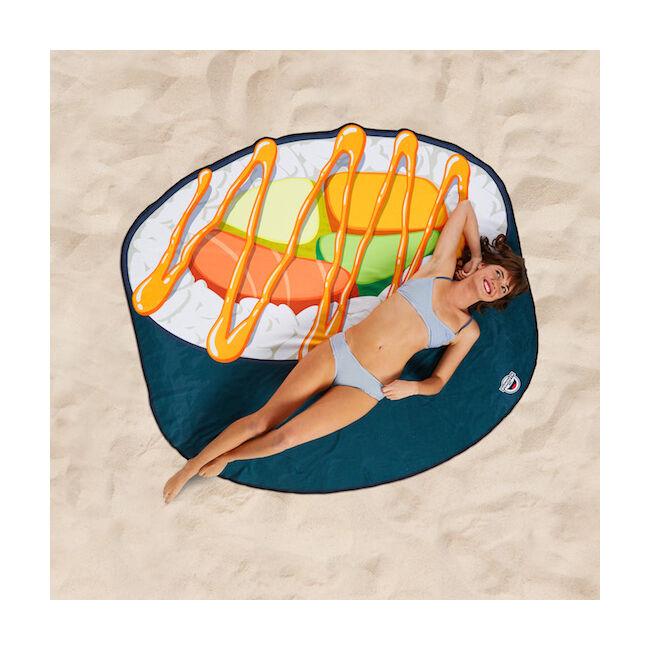 Óriás sushi strandtörölköző