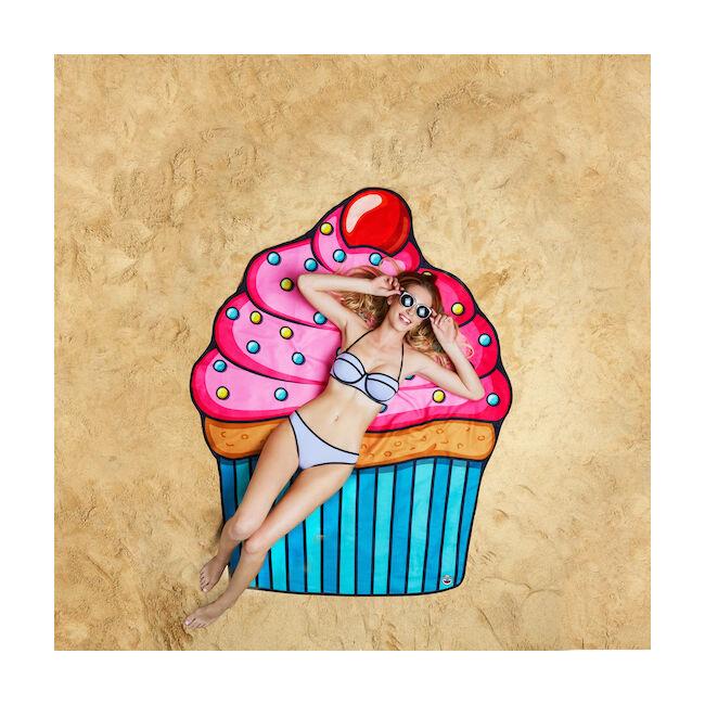 Óriás muffin strandtörölköző