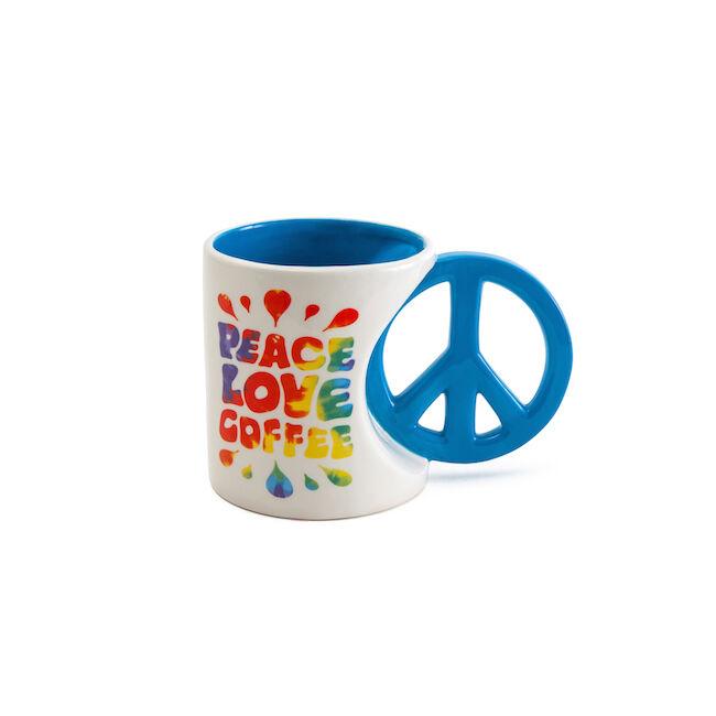 Peace and love bögre