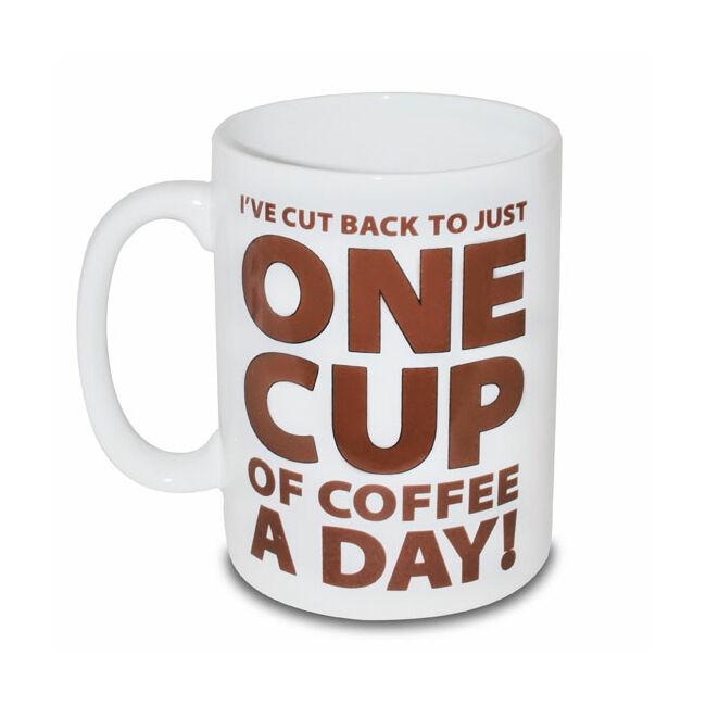 ONE CUP OF COFFEE orbitálisan nagy 1,9 literes bögre