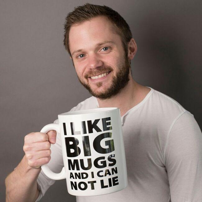 I like BIG mugs orbitálisan nagy 1,9 literes bögre