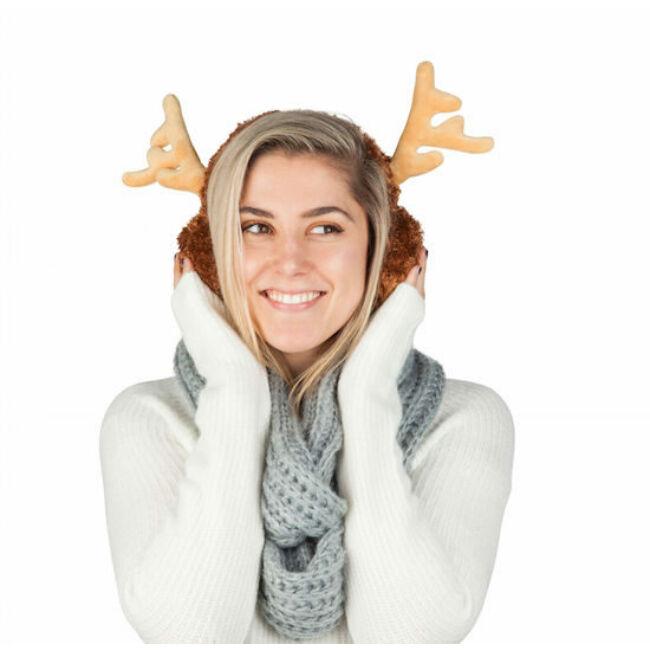 Rénszarvas fülvédő