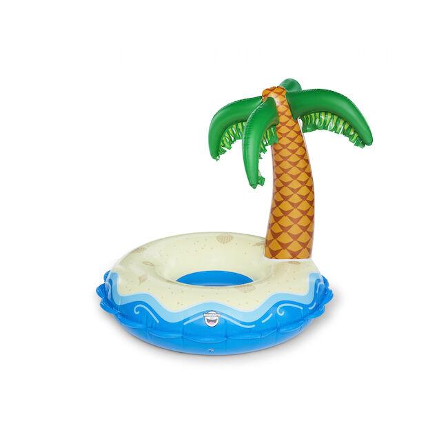 Óriási oázis sziget pálmafával úszógumi
