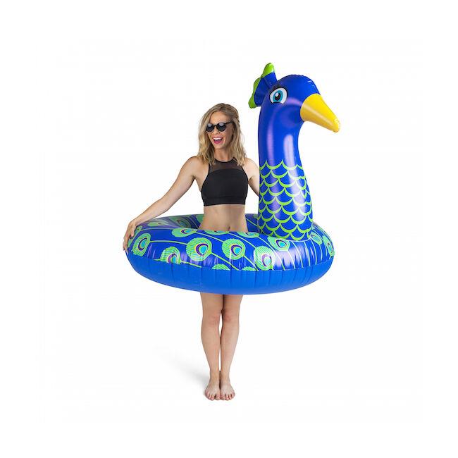 Óriási páva úszógumi