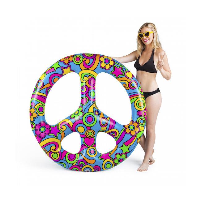 Óriási peace jel úszógumi
