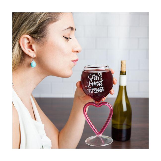 Minden amire szükséged van! borospohár