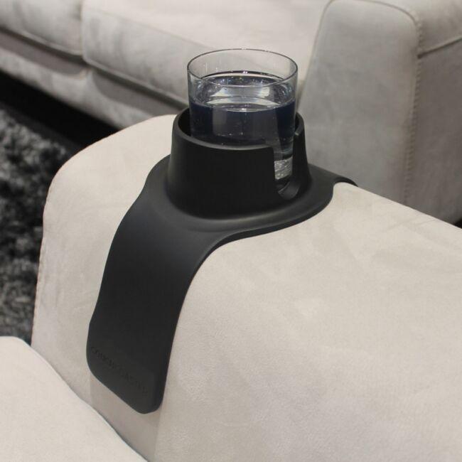 Couch Coaster -  Pohártartó kanapéhoz Fekete
