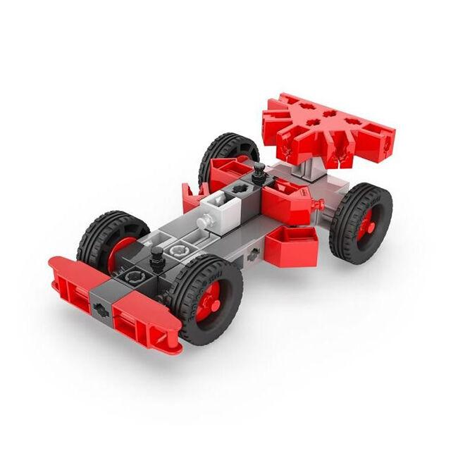 Engino Stem Heroes Versenyautó - Formula építőjáték