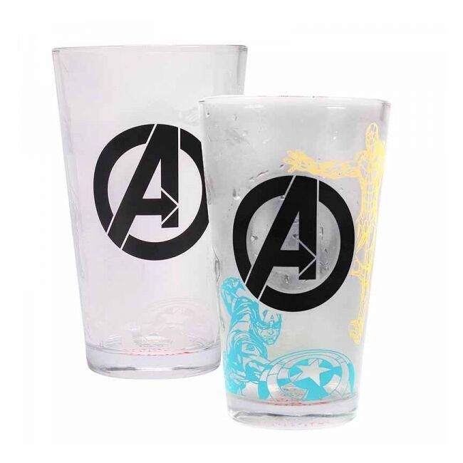 Marvel Avengers - Bosszúállok hőre változó pohár