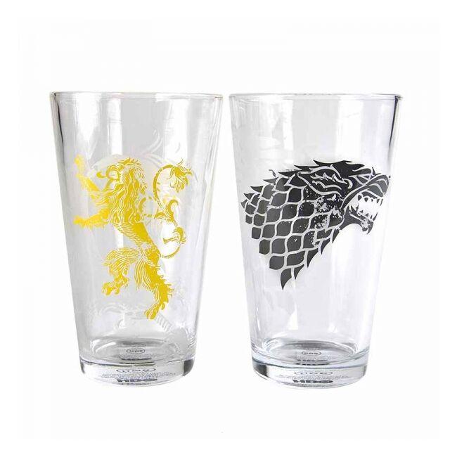 Trónok harca Stark és Lannister pohár szett (2 db)