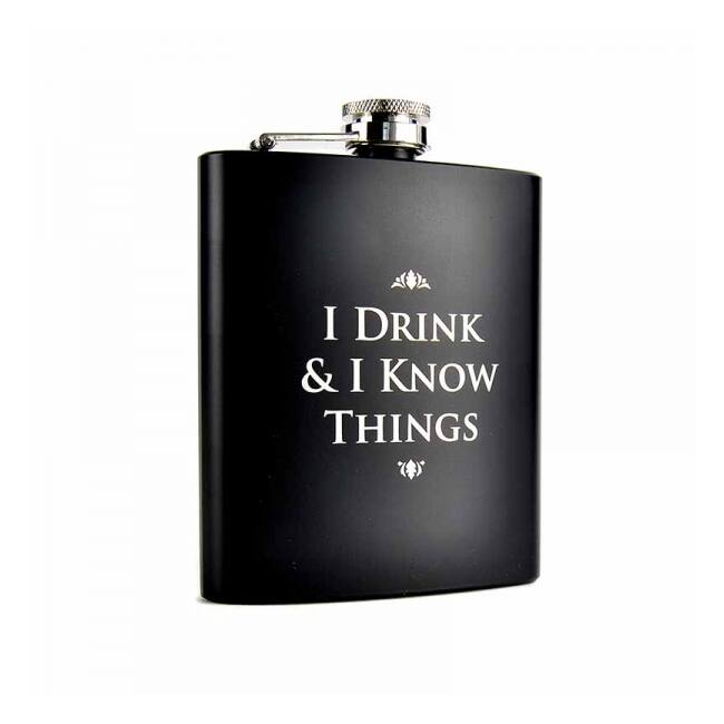 Trónok Harca - I Drink & I Know Things flaska