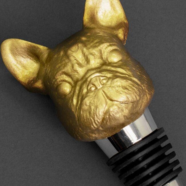 Iron & Glory - Bulldog borosüveg dugók Arany