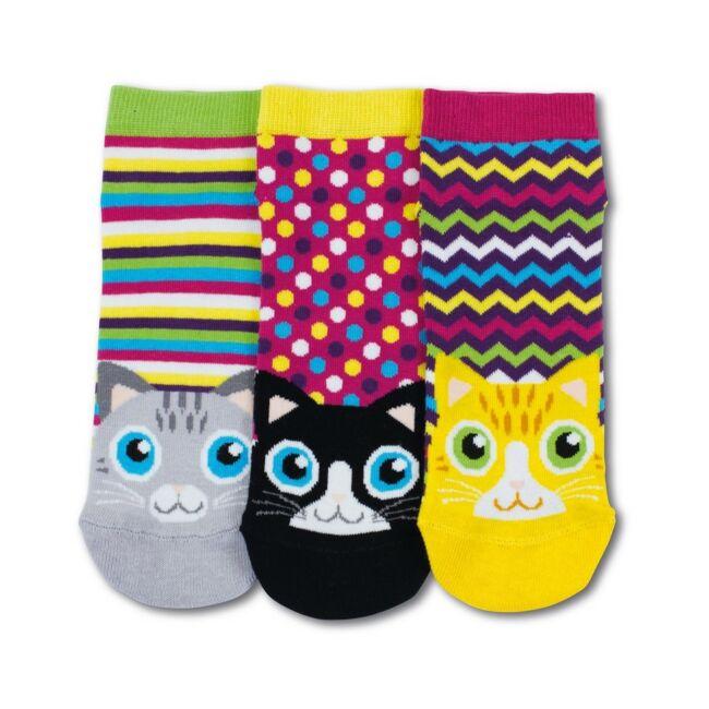 Cicák - 3 darabos zokni szett