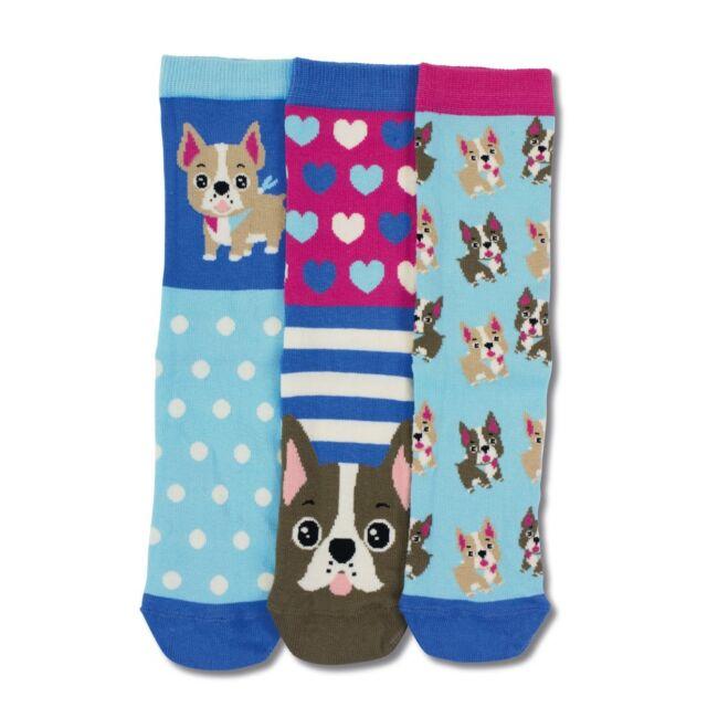 Lucy - 3 darabos zokni szett