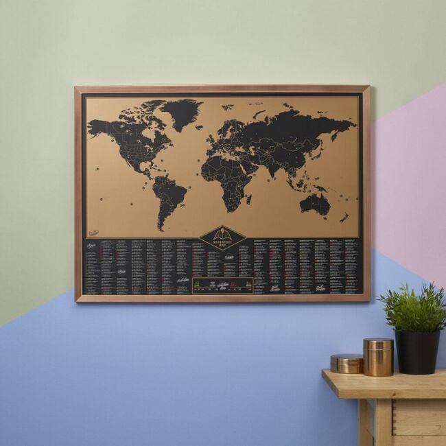 Kaparós térkép 300 kalandos helyszínnel