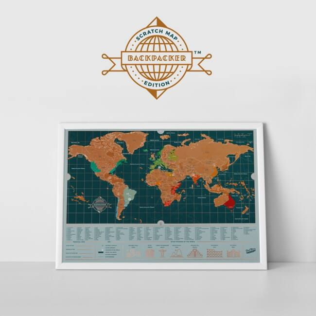 Kaparós térkép hátizsákos változatban