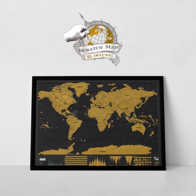 Kaparós térkép Deluxe XXL változatban