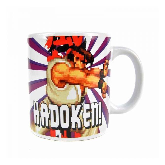 Street Fighter Ryu Hadoken bögre