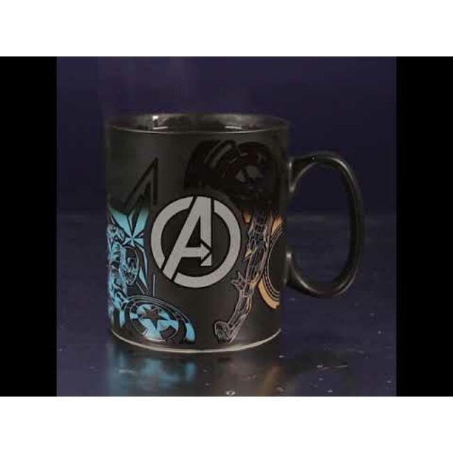 Marvel Avengers - Bosszúállok hőre változó bögre
