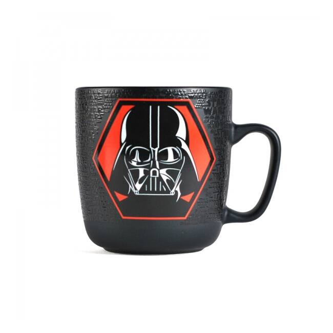 Star Wars dombornyomott Darth Vader matt bögre