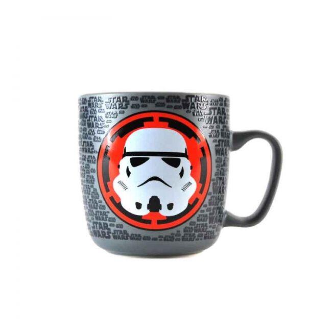 Star Wars dombornyomott Stormtrooper matt bögre