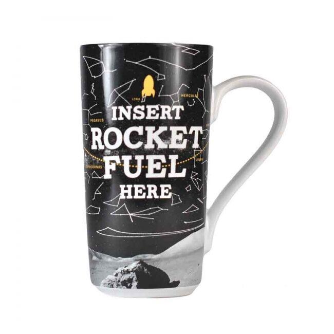 Nasa Latte bögre - Insert rocket fuel here