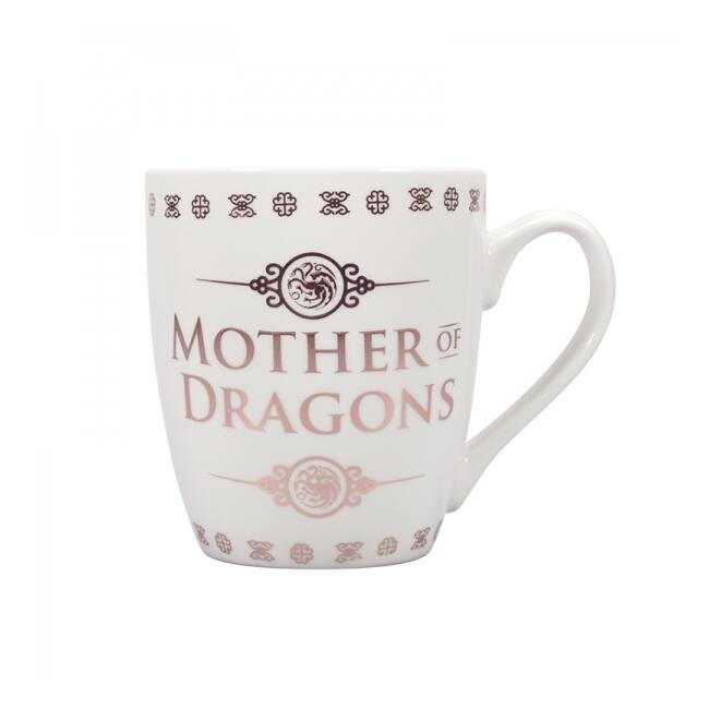 Trónok harca - Daenerys Targaryen a Sárkányok anyja bögre