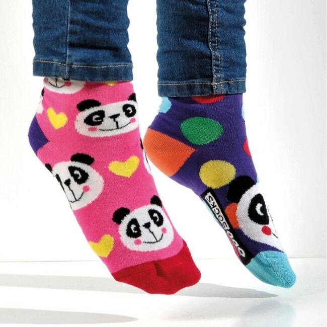 Pandamonium zokni szett - 6 db különböző mintájú zokni