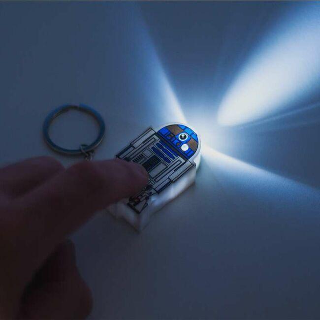 Star Wars R2-D2 világító kulcstartó